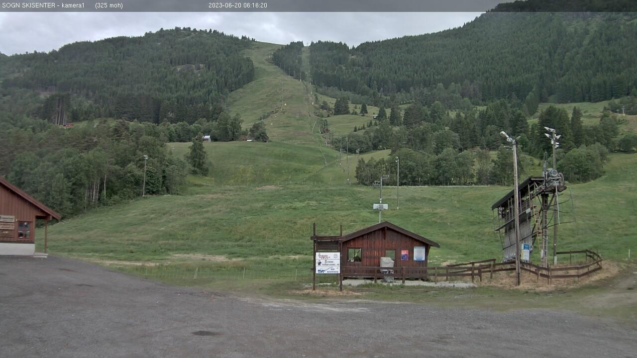 Sogn - ski centre; bottom